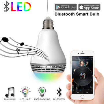 Top 10 Best Bluetooth Light Bulb Speakers In 2019