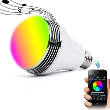QiLi Bluetooth Light Bulb Speakers
