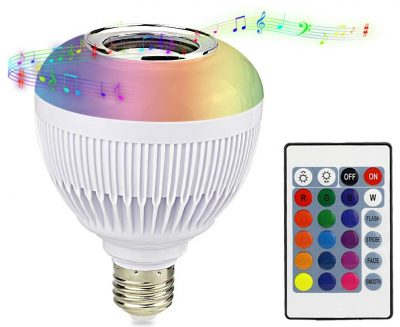 RAYWAY Bluetooth Light Bulb Speakers