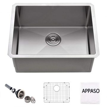 APPASO Stainless Steel Utility Sinks