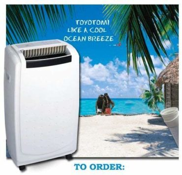 Toyotomi Dual Hose Portable Air Conditioners