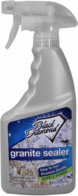 Black Diamond Stoneworks Granite Sealers