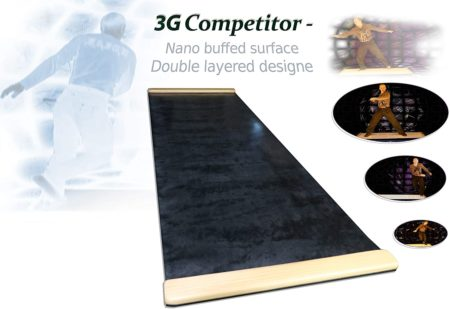 3G BLACK Slide Boards