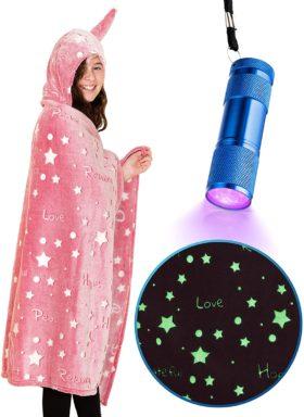 LIDERSTAR Hooded Blankets