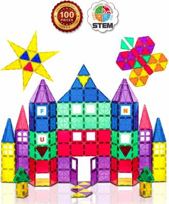 Playmags Magnetic Building Blocks