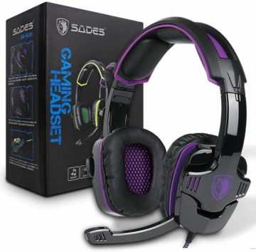 SA930Plus Sades Gaming Headsets