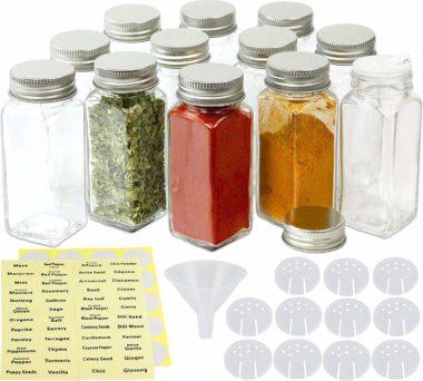 SimpleHouseware Spice Jars