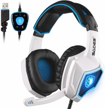 Spirit Wolf Sades Gaming Headsets