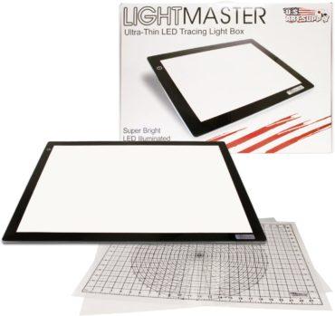 US ART SUPPLY Tracing Light Pads
