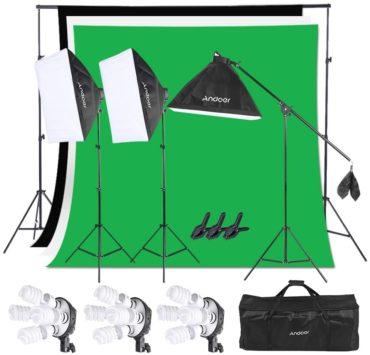 Andoer Softbox Lighting Kits