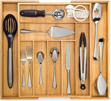 Dynamic Gear Utensil Drawer Organizers