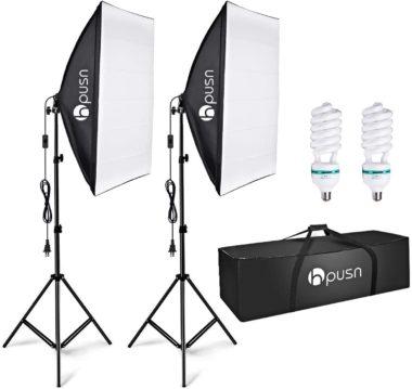 HPUSN Softbox Lighting Kits