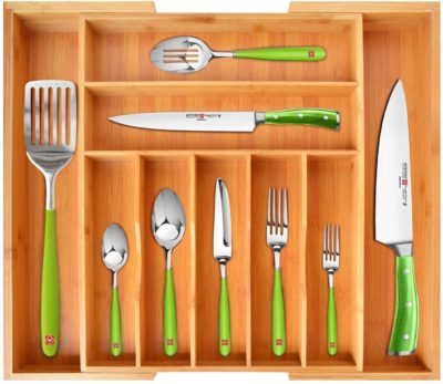 ROYAL CRAFT WOOD Utensil Drawer Organizers