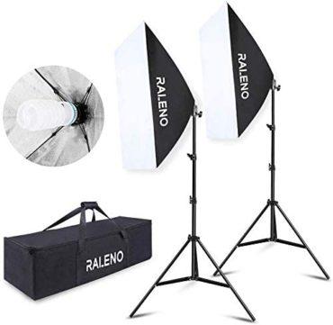 RaLeno Softbox Lighting Kits
