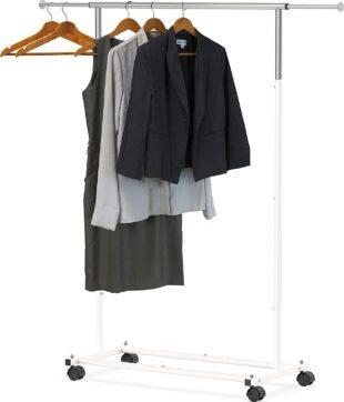 Simple Houseware Rolling Garment Racks