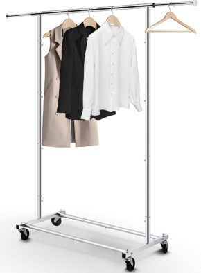 Simple Trending Rolling Garment Racks