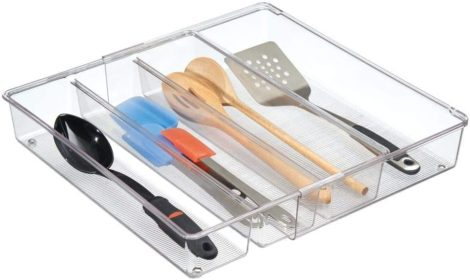 mDesign Utensil Drawer Organizers