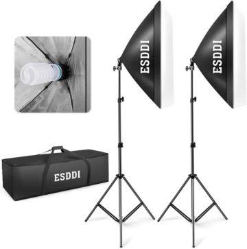 ESDDI Softbox Lighting Kits