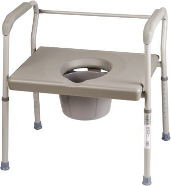 Dmi Elongated Toilet Seat Riser With Arms