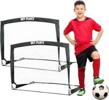 NET PLAYZ Soccer Goal for Kids